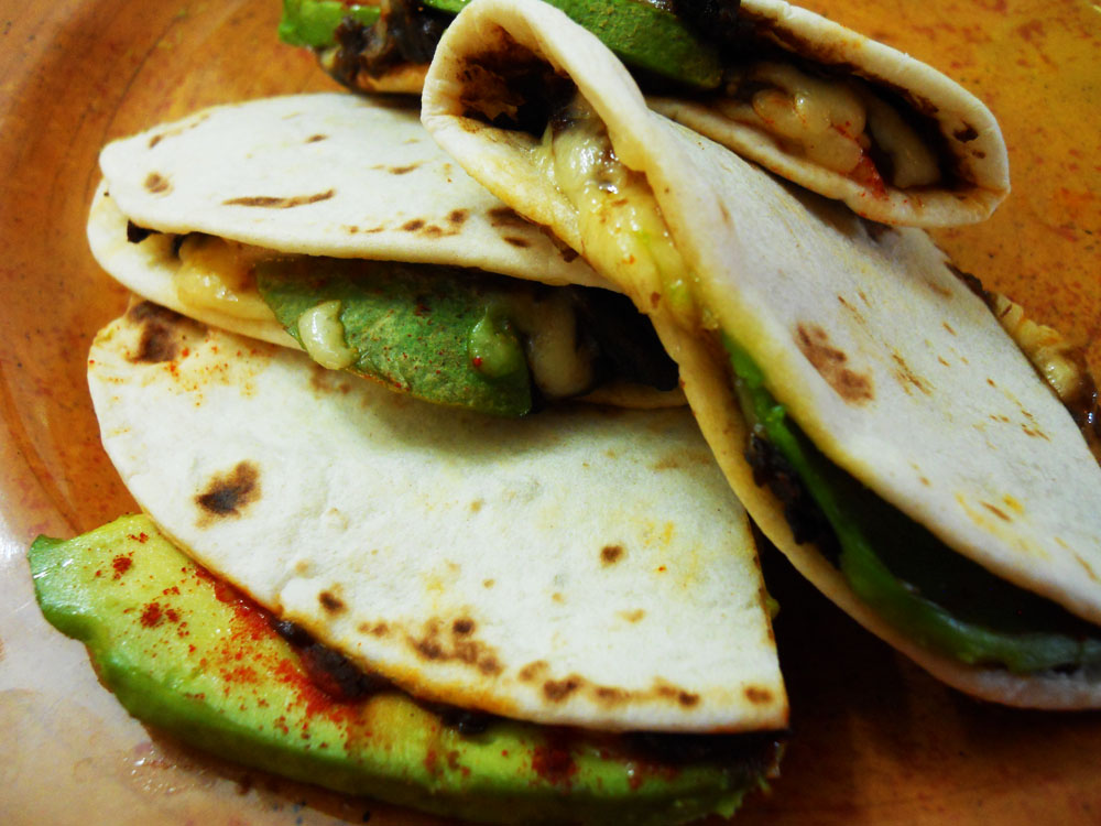 Avocado And Olive Quesadillas Recipes — Dishmaps